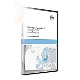 VW Navigatie update, RNS 300, Oost-Europa (V13) TPC116E1OEU