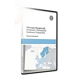 VW Navigatie update, RNS 300, Scandinavië / Finland (V13) TPC116E1SKA