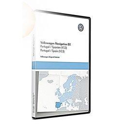 VW Navigation update, RNS 300, Portugal / Spain (V13)