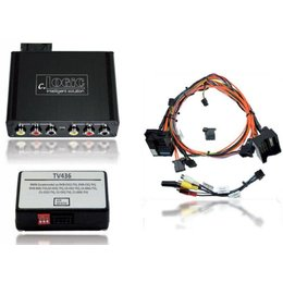 Multimedia Interface for BMW iDrive Professional (CCC with factory TV tuner) navigation incl. Video release
