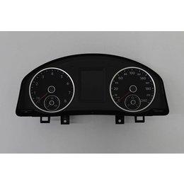 VW Tiguan 5N Installer Panel KM Counter Color Display 5N0920873B