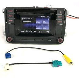 OEM RCD330 VW Touch Screen Radio - Hohe Version Bluetooth - A2DP - 5inch