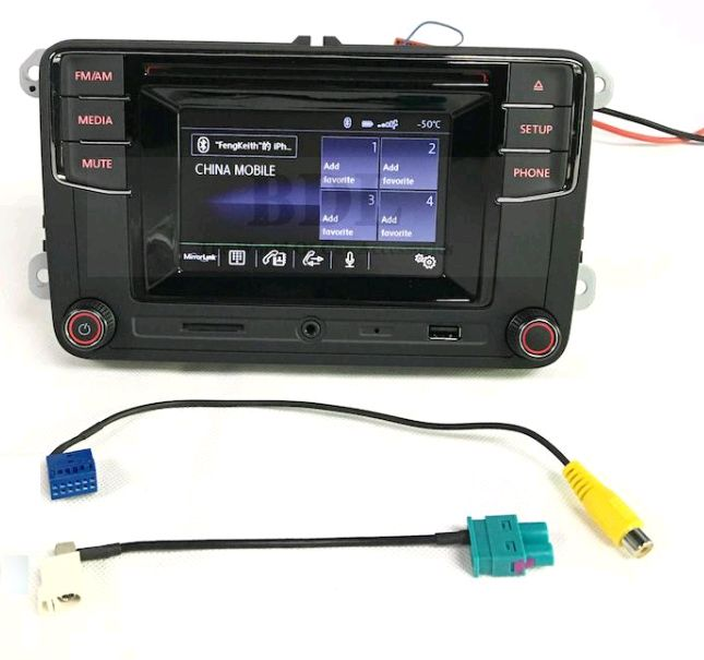 oem rcd330 vw touch screen radio high version bluetooth. Black Bedroom Furniture Sets. Home Design Ideas