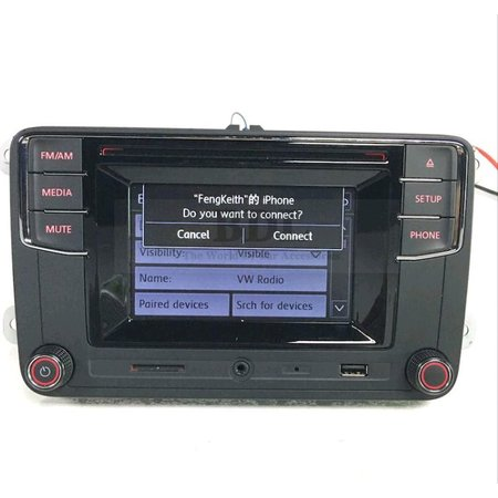oem rcd330 vw touch screen radio hohe version bluetooth. Black Bedroom Furniture Sets. Home Design Ideas