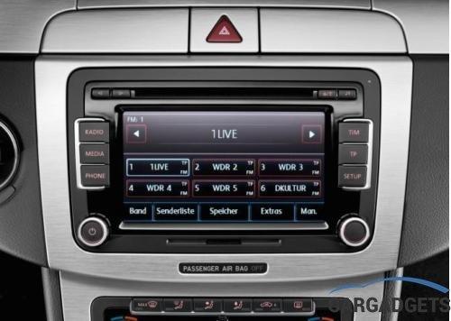 radio cd passat b6 b7 cc tiguan 3c8 035 195 car gadgets bv. Black Bedroom Furniture Sets. Home Design Ideas