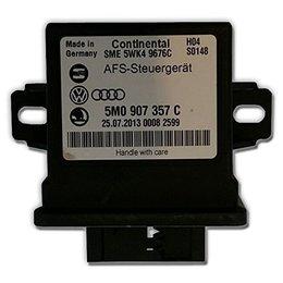 Volkswagen AFS Steuergerät - Audi - VW - Skoda 5M0907357F - Leuchtweitenkontrolle und Kurve Licht LWR