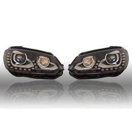 VW Bi-Xenon Headlights LED DTRL - Upgrade - VW Tiguan 2012