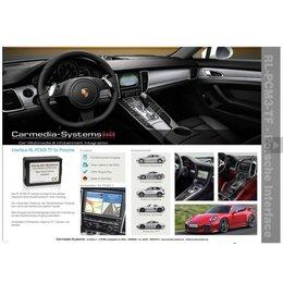 Porsche Achteruitrijcamera interface voor PCM3.1 systeem incl. Video release.