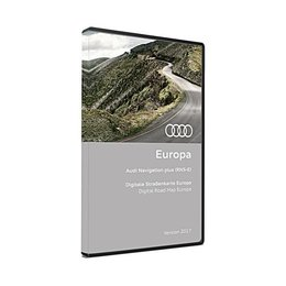AUDI NAVIGATION PLUS RNS-E DVD Europa Version 2017 3 x DVD 8P0 919 884 CM