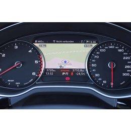 Ombouwset Retrofit MMI navigatie plus met MMI touch voor Audi Q7 4M - DAB