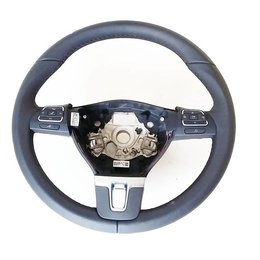 Volkswagen VW leather steering wheel with MFL 1T0 419 091 AC 1T0419091AC