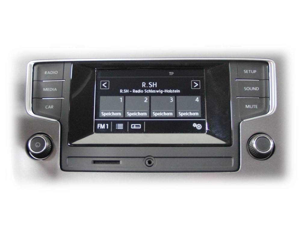 radio composition touch vw golf 7 sportsvan car. Black Bedroom Furniture Sets. Home Design Ideas
