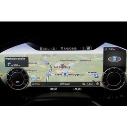 Ombouwset MMI navigatie plus met MMI touch voor Audi TT 8S (FV) - SIM