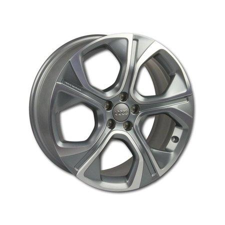 Original Audi A1 8X alloy wheel 5-arm polygon 18 inch