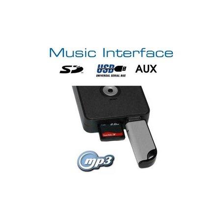 Digitales Music Interface USB SD AUX Mini ISO Audi VW Seat Skoda