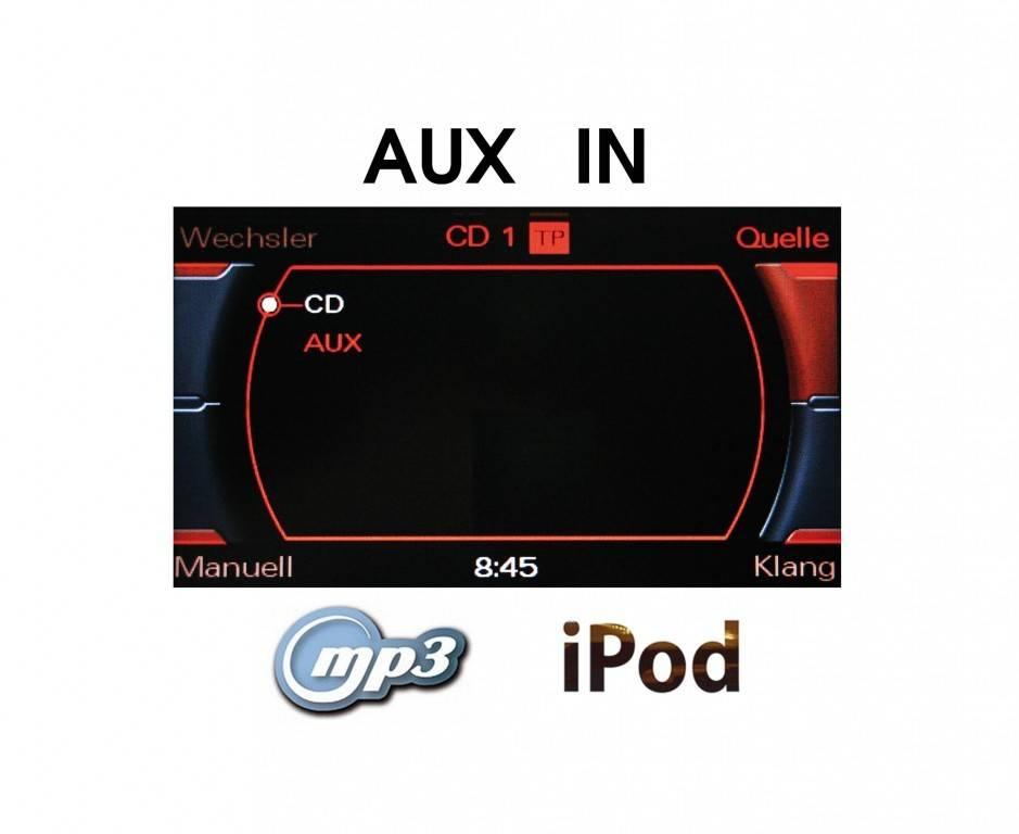 Aux In Radio Concert Symphony Retrofit Audi Car