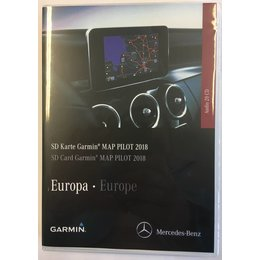 Here Kartenupdate 2018 Garmin Map Mercedes SD-Karte Version V10 Navigation A2189062903