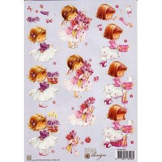 A4 knipvel Fema design Meisjes