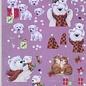 Doordrukvel Reddy Kerst Hondjes en beren