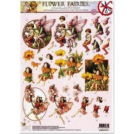Doordrukvellen Flower Fairies