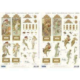 Doordrukvellen per 2 stuks Seasons 1896 tot 4 seizoenen