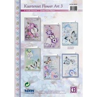 Kaartenset Flower Art 3