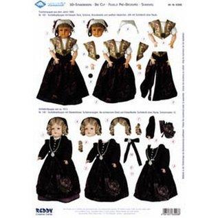 Knipvel A4 Costume poppen 2