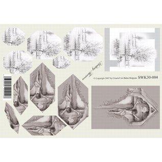Creatief Art Knipvel piramidevel A4  SWK30-004