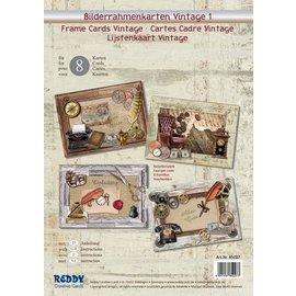 Lijstenkaarten Vintage 1