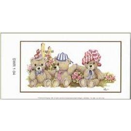 Creatief Art Pakket 6st SWR1-94  Beren