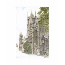 Creatief Art Pakket 6x SWR 396  Gent St Baafskatedraal