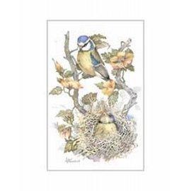 Creatief Art Pakket 6x SWR 398  Vogels in nest