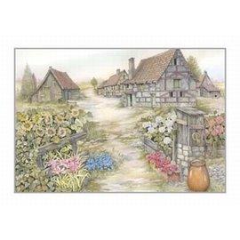 Creatief Art Pakket 6x SWR2-5038 landschap met pomp