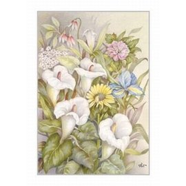 Creatief Art Pakket 6x SWR2-5042  boeket bloemen