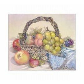 Creatief Art Pakket 6x SWR6-0045 stilleven fruitschaal