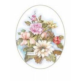 Creatief Art Pakket 6x SWR9-19  bloemen met rozen
