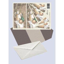 Creatief Art Pakket drieslag piramidevellen SWK30-033