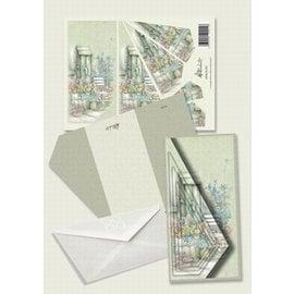 Creatief Art Pakket drieslag piramidevellen SWK30-042
