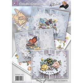 Creatief Art Paradise Butterflies 02