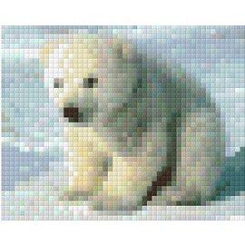 Pixel Hobby Pixelhobby kleine ijsbeer