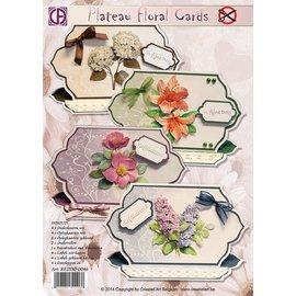 Creatief Art Plateau Floral Cards