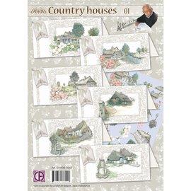 Creatief Art Staf Wesenbeek Country Houses 01 (Doordruk)