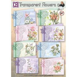 Creatief Art Transparent Flowers 01