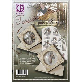 Creatief Art Twisted frames horses