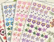 Blumen-Kunst-Sheets