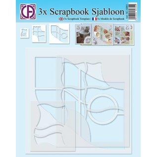 Creatief Art 3x Scrapbook Sjabloon