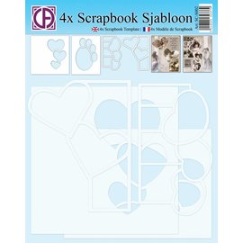 Creatief Art 4x Scrapbook Sjabloon