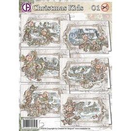Creatief Art Noël Enfants 01