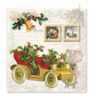 Reddy cards Christmas Vintage 3
