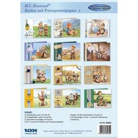 Reddy cards Hummel Cartes avec Transparantpapier1